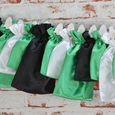 Adventskalender - schwarz-weiß-grün