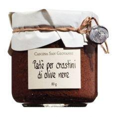 Schwarze Olivencreme - Paté crostini di olive nere