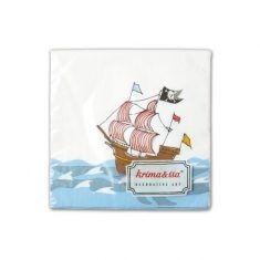 Servietten - Piratenschiff
