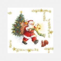 Servietten - Santa Claus