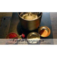 Gewürzkästchen - Fondue Bourguignonne