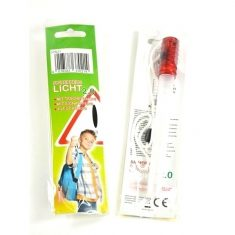 Sicherheitslicht - Leuchtstab mit Taschenlampe