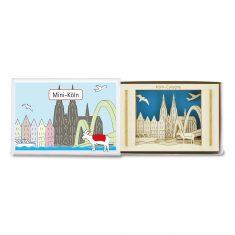 Silhoubox Mini-Silhouette - Köln