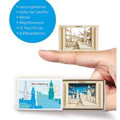 Silhoubox Mini-Silhouette - Hamburg