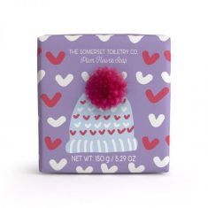 Bobble Hat Soap - Plum flower
