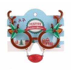 Spaßbrille - Rentier