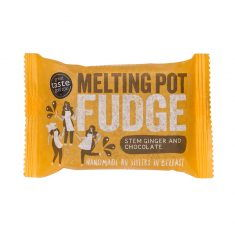 Melting Pot Fudge - Stem Ginger an Chocolate