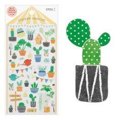 Sticker Marché - Cactus
