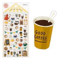 Sticker Marché - Coffee