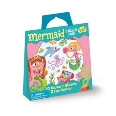 Sticker-Spielset - Meerjungfrau