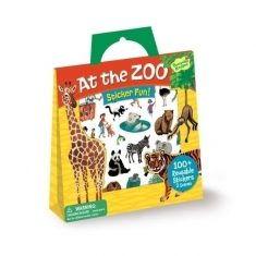 Sticker-Spielset - Zoobesuch