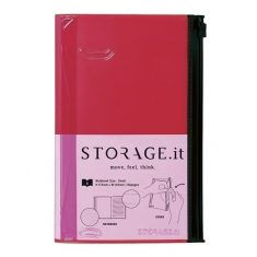 Storage.it - Notebook small, rot