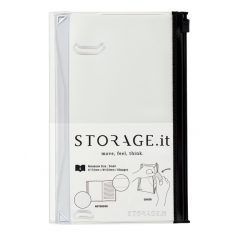 Storage.it - Notebook small, weiß
