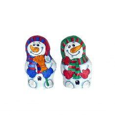 Mini-Schneemann aus Edelvollmilch