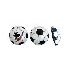 Fußball-Taler aus Vollmilchschokolade