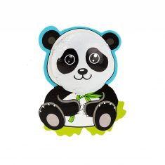 Panda aus Vollmilchschokolade