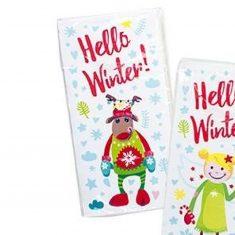 Taschentücher - Rentier, Hello Winter