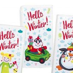 Taschentücher - Weihnachtsmann, Hello Winter