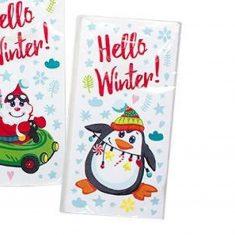 Taschentücher - Pinguin, Hello Winter