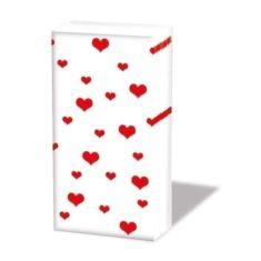Taschentücher - Herzen