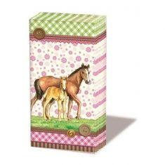 Taschentücher - Signed Horses