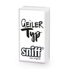 Taschentücher SNIFF - Geiler Typ