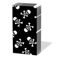 Taschentücher SNIFF - Skull black