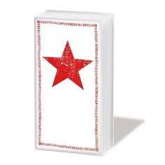Taschentücher SNIFF - Star Fashion red