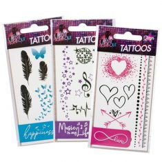 Tattoos - Glitzer-Style, Girls Night Out