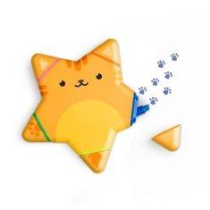 Textmarker - Pfötchen, Katze