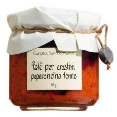 Thunfischcreme - Paté crostini peperoncino tonno