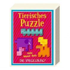 Tierisches Puzzle - Bunte Geschenke