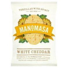 Tortilla Chips - White Cheddar, Manomasa