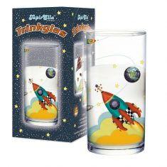 Trinkglas - Rakete