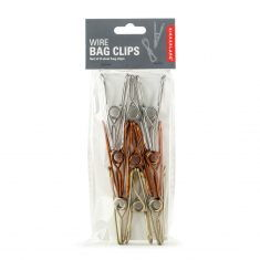Tütenclips aus Draht - Wire Bag Clips, 9er-Set