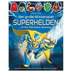 Der große Stickerspaß: Superhelden