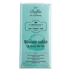 Zartbitterschokolade - Biscuit sablé & fleur de sel, Dolfin