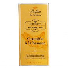Zartbitterschokolade - Crumble à la banane, Dolfin