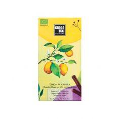 Weiße Schokolade - Limón & Canela, bio