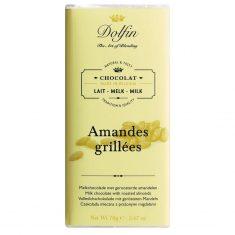 Vollmilchschokolade - Amandes grillées, Dolfin