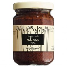 Schwarze Olivencreme - Crema di olive nere
