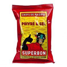 Kartoffelchips - Poivre & Sel, Superbon