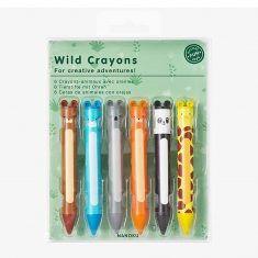 Wachsmalstifte - Wild Crayons