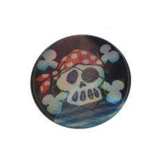 Wackelbild Button - Pirat