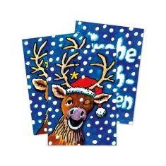 Wackelbild-Postkarte -  Frohe Weihnachten