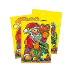 Wackelbild-Postkarte - Nikolaus