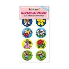 Wackelbild-Sticker - Mädchen 1