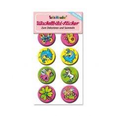 Wackelbild-Sticker - Mädchen 2