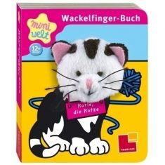 Wackelfinger-Buch - Karla, die Katze