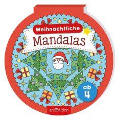Malblock - Weihnachtliche Mandalas